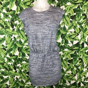5 for $25 LNA Blue Heathered T Shirt Dress